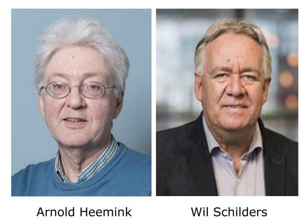 Arnold Heemink en Wil Schilders